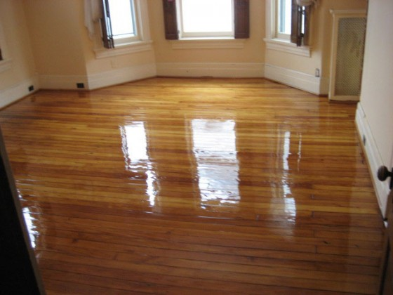 Oak Floor Refinishing