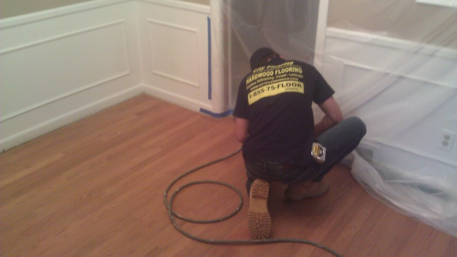 City Flooring installing Hardwood floors in Bloomfield MI
